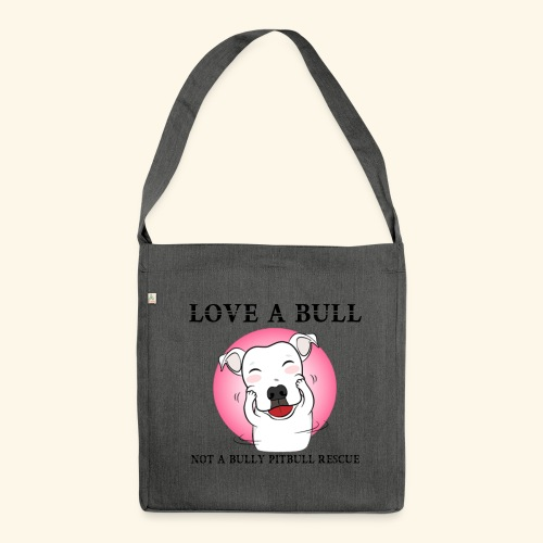LOVE A BULL - Borsa in materiale riciclato