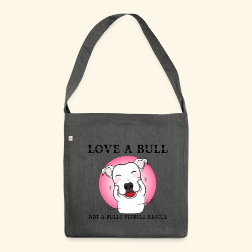 LOVE A BULL - Borsa in materiale riciclato