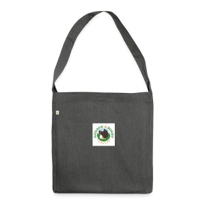logo - Borsa in materiale riciclato