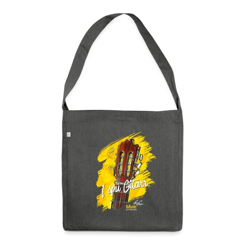 I spü Gitarr - limited edition '19 - Schultertasche aus Recycling-Material
