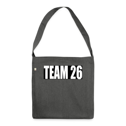 TEAM26 - Shoulder Bag made from recycled material
