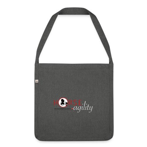 Interessengemeinschaft Horse Agility - Schultertasche aus Recycling-Material