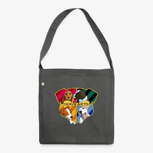 Dogwarts Logo - Shoulder Bag made from recycled material