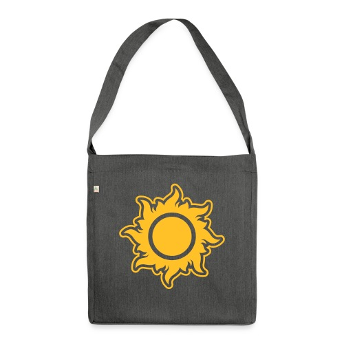 feurige Sonne sunshine Sommer summer Stern Star - Shoulder Bag made from recycled material