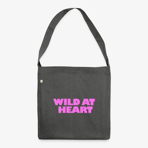 Wild at Heart - Schultertasche aus Recycling-Material
