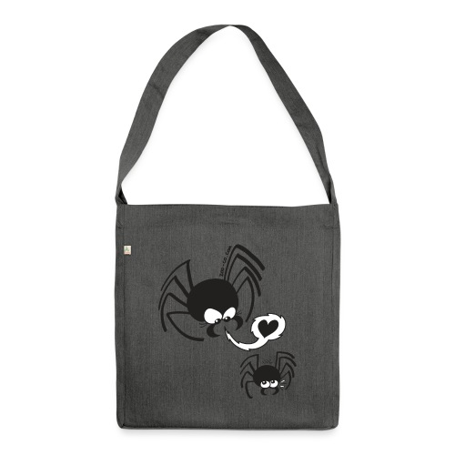 Dangerous Spider Love - Shoulder Bag made from recycled material