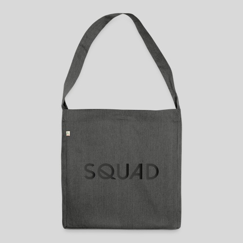 SQUAD - Schultertasche aus Recycling-Material