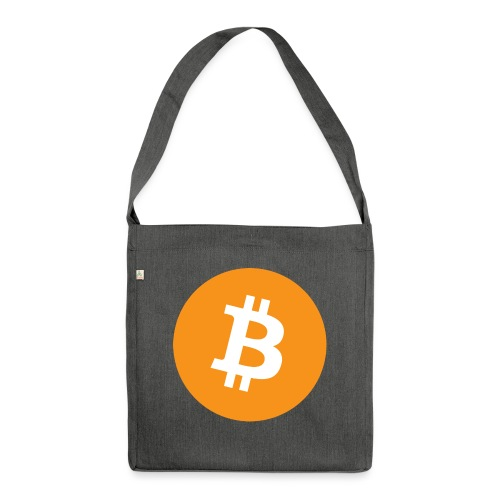 Bitcoin - Shoulder Bag made from recycled material