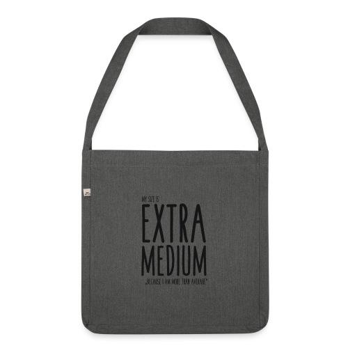 EXTRAmedium - Sac bandoulière 100 % recyclé