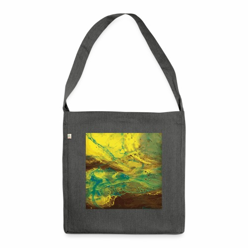 Nature - Schultertasche aus Recycling-Material