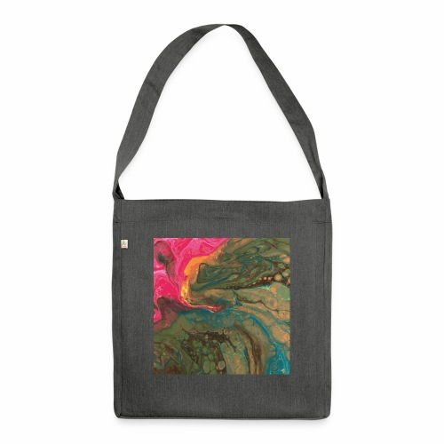 Orchid - Schultertasche aus Recycling-Material