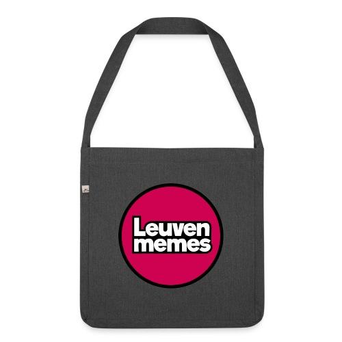Logo LeuvenMemes - Sac bandoulière 100 % recyclé