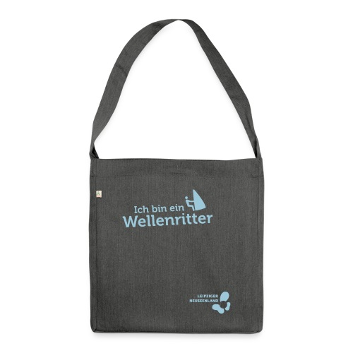 W 5 - Schultertasche aus Recycling-Material
