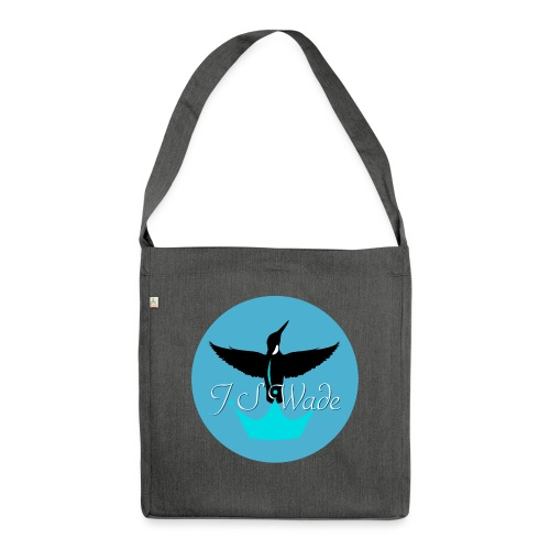 J S Wade Logo - Shoulder Bag made from recycled material