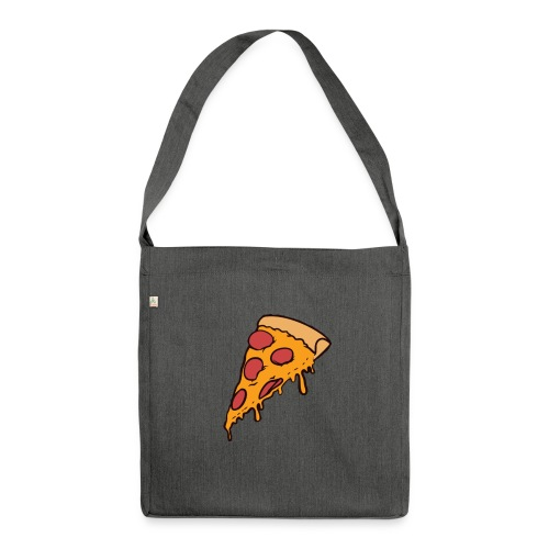 Pizza - Bandolera de material reciclado