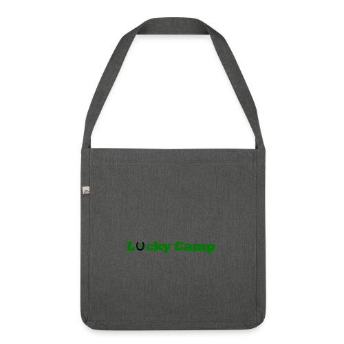 Glücksbringer Camp - Schultertasche aus Recycling-Material