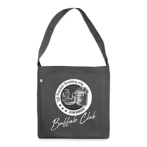 Buffalo Club Strong Arm - Shoulder Bag made from recycled material