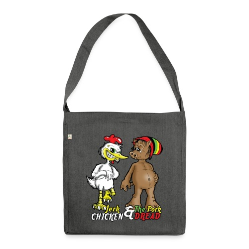 Jerk chickenPork Dread - Shoulder Bag made from recycled material