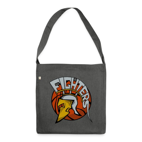 Fighters Logo - Schultertasche aus Recycling-Material