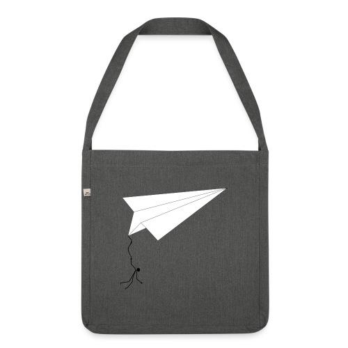 Papierfliger - Schultertasche aus Recycling-Material