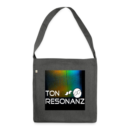 Ton Resonanz Logo - Schultertasche aus Recycling-Material