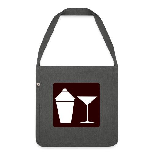 Alkohol - Schultertasche aus Recycling-Material