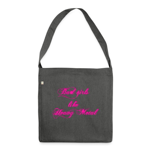 Bad-Girls - Schultertasche aus Recycling-Material
