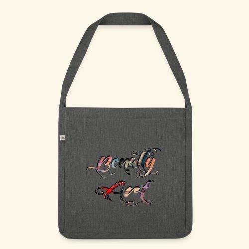 benallyartwirklichschwarz gif - Shoulder Bag made from recycled material