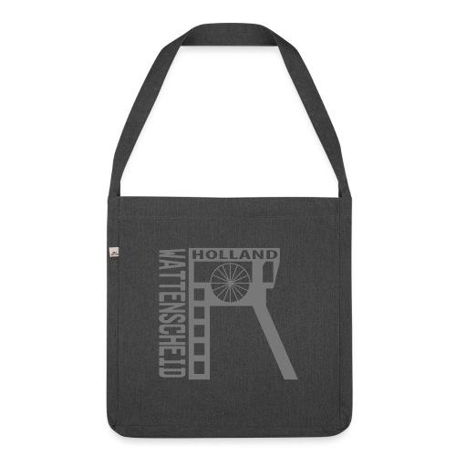 Zeche Holland (Wattenscheid) - Schultertasche aus Recycling-Material