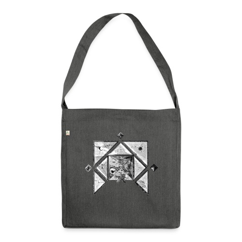 Paris France - Shoulder Bag made from recycled material