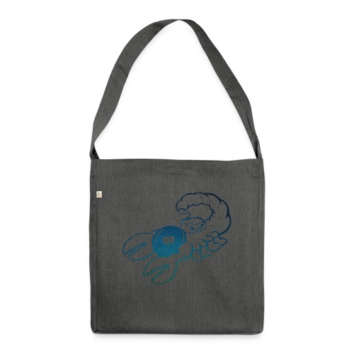 Space Scorpions?! (Stars) - Shoulder Bag made from recycled material