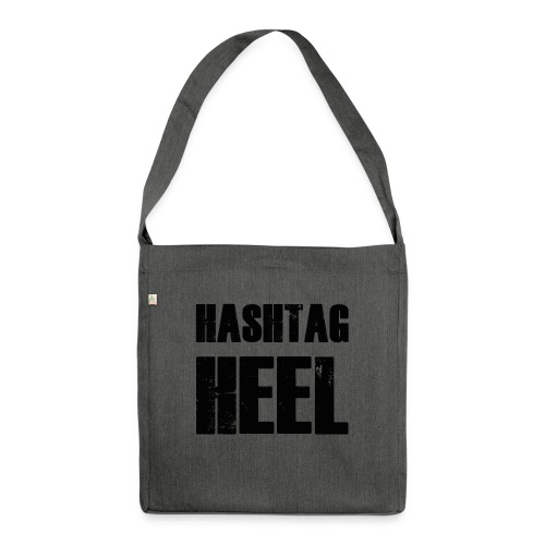 hashtagheel - Shoulder Bag made from recycled material