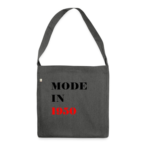 MODE IN 150 - Shoulder Bag made from recycled material