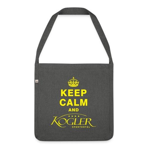 Kogler Logo mittersill - Schultertasche aus Recycling-Material