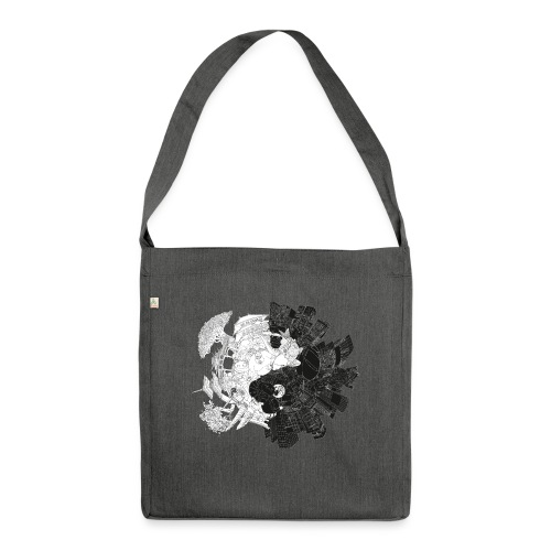 New Yin Old Yang - Shoulder Bag made from recycled material