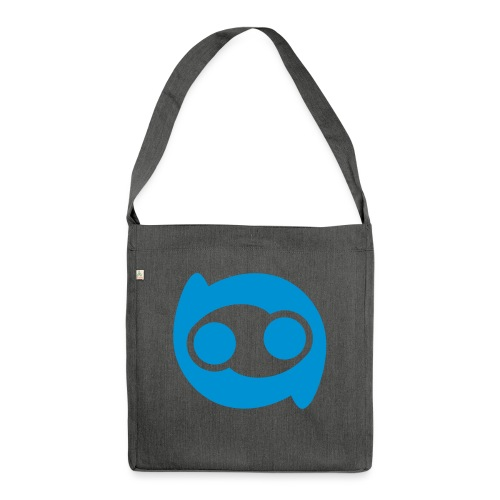 Justlo Smiley - Schultertasche aus Recycling-Material