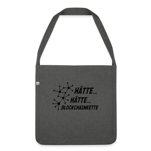 Blockchainkette - Schultertasche aus Recycling-Material
