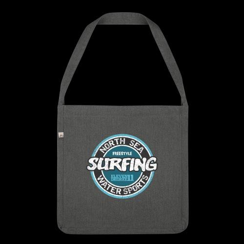 North Sea Surfing (oldstyle) - Skuldertaske af recycling-material