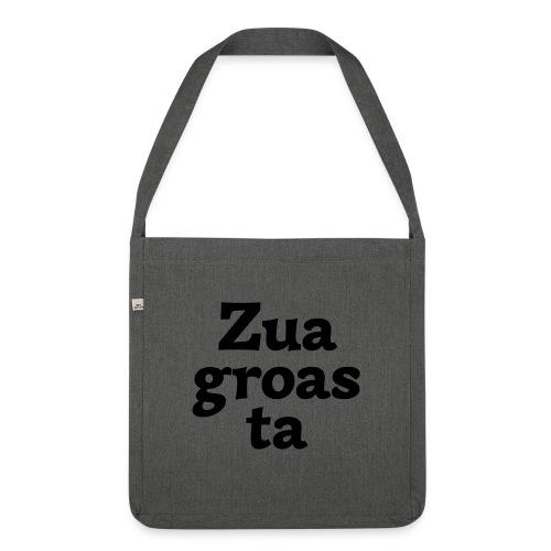 Zuagroasta - Schultertasche aus Recycling-Material