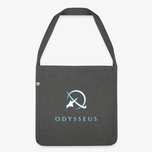 Odysseus glow text - Olkalaukku kierrätysmateriaalista