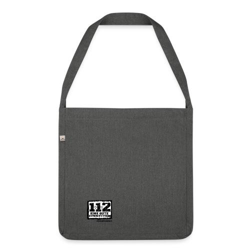 1+1=2 Logo - Schultertasche aus Recycling-Material