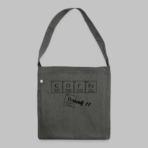 Coffee Break - Shoulder Bag made from recycled material