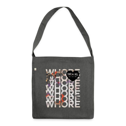 Brave Shunga Whore Bag - Shoulder Bag made from recycled material