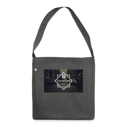 Youth King logo - Shoulder Bag made from recycled material