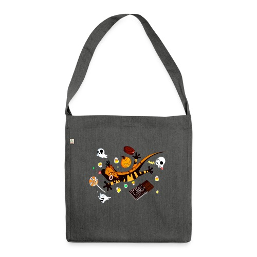 Halloween - Shoulder Bag made from recycled material
