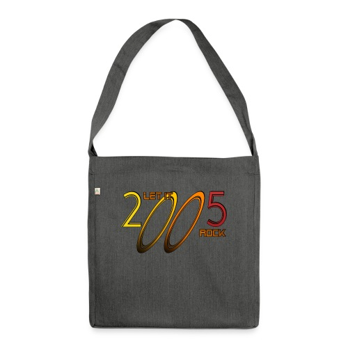 Let it Rock 2005 - Schultertasche aus Recycling-Material