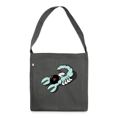 Space Scorpions?! (Colour) - Shoulder Bag made from recycled material