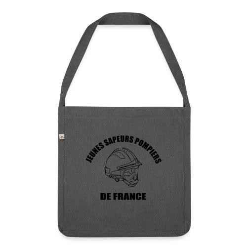 Jeunes Sapeurs Pompiers de France - Sac bandoulière 100 % recyclé