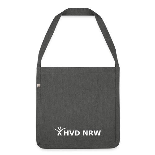 hvd nrw logo weiss transparent komplett - Schultertasche aus Recycling-Material