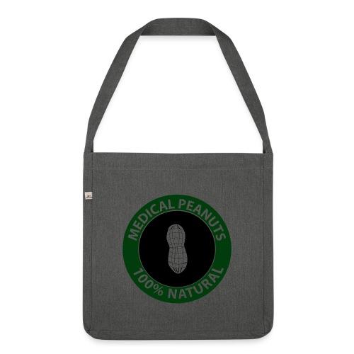 Peanut Attiction - Schultertasche aus Recycling-Material